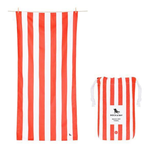 Бързосъхнеща кърпа за плаж Корал