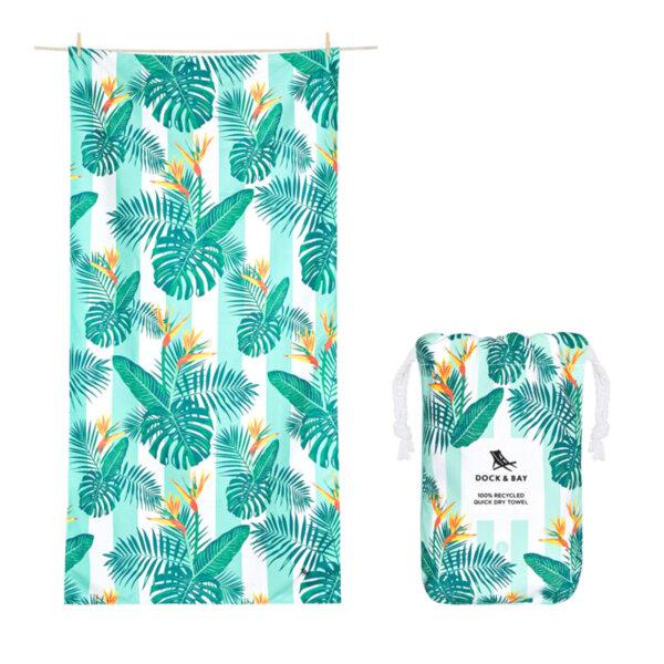 Бързосъхнеща кърпа за плаж Парадайз