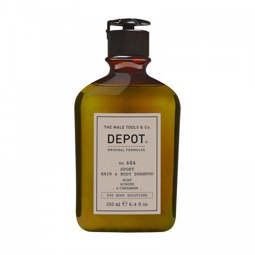 DEPOT no. 606 SPORT HAIR & BODY SHAMPOO СПОРТЕН ШАМПОАН ЗА КОСА И ТЯЛО 250 ml