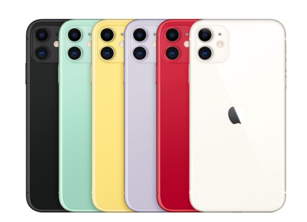 Смартфон Apple iPhone 11 (MHDH3GH/A)