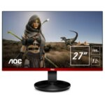 "AOC G2790PX Gaming 27"" Wide TN LED, 144Hz FreeSynk, 1 ms, 1000:1, 20M:1 DCR, 400 cd/m2, FullHD 1920x1080, USB, D-sub, HDMI, DP, Speakers, Black/Red"