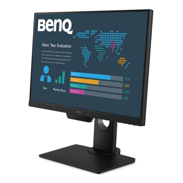 BenQ BL2381T, 22.5'' IPS, 5ms, 1920x1200 WUXGA, 16:10, Eye Care Business Monitor, 72% NTSC, Flicker-free, B.I., LBL, 1000:1, DCR 20M:1, 8 bit, 250cd/m2, VGA, HDMI, DP, DVI-D, USB x4,