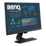 BenQ BL2480, 23.8'' IPS, 5ms, 1920x1080 FHD, Stylish Eye Care Monitor, 72% NTSC, Flicker-free, B.I., LBL, 1000:1, DCR 20M:1, 8 bit, 250cd/m2, VGA, HDMI, DP, Audio Line In, Speakers, Tilt,