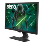 "BenQ GL2480, 24"" TN, 1ms, 1920x1080 FHD, 75Hz, Eye-care Stylish Monitor, ePaper Mode, 72% NTSC, Flicker-free, LBL, Brightness Intelligence (B.I.), 1000:1, DCR: 12M:1, 8bit, 250 cd/m, DVI,"