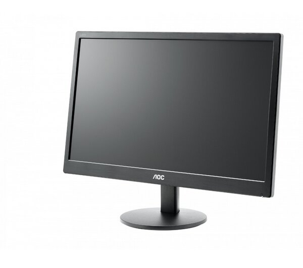 "AOC E2070SWN, 19.5"" Wide TN LED, 5ms, 20M:1 DCR, 200 cd/m2, 1600x900 HD+, Black"