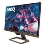 """BenQ EW2780U, 27"""" IPS, HDRi, 5ms, 3840x2160 4K, 99% sRGB, Flicker-free, B.I.+, LBL, 1300:1, DCR 20M:1, 10bit, 350 cd/m, HDMI (v2.0) x2, DisplayPort (DP), USB Type-C (PowerDelivery 60W, DP Alt"""