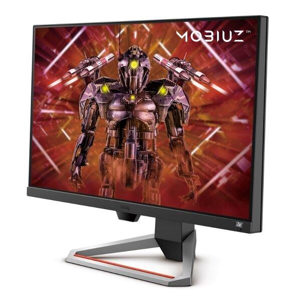 "BenQ MOBIUZ EX2710, 27"", IPS, HDRi, 144Hz, 1ms, 1920x1080 FHD, FreeSync Premium, 99% sRGB, HDR10, B.I.+, Light Tuner, Black eQualizer, Color Vibrance, Quick OSD, Eye-Care, treVolo Speakers"