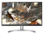 "LG 27UL600-W, 27"" Wide LED, IPS Panel Anti-Glare, sRGB 99%, Cinema Screen, 5ms, 1000:1, Mega DFC, 350 cd/m2, 3840x2160, VESA DisplayHDR 400, HDMI, DisplayPort, FreeSync, Headphone out, Tilt,"