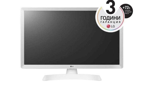 "LG 28TN515S-WZ, 27.5"" WVA, LED non Glare, Smart webOS 3.5, TV Tuner DVB-T2/C /S2, 1200:1, Mega DFC, 250cd, 1366x768, Wi-Fi, LAN, RCA, WiDi, Miracast, HDMI, CI Slot, USB 2.0, HOTEL MODE,"