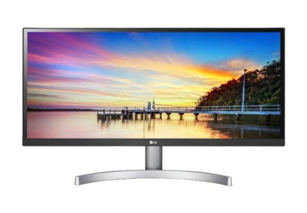 """LG 29WK600-W, 29"""" UltraWide AG, IPS Panel, HDR 10, 5ms, Mega DFC, CR 1000:1, 300 cd/m2, 21:9, 2560x1080, sRGB over 99% , HDMI, DisplayPort, FreeSync, Speaker Maxx Audio 5W*2, Tilt, Headphone"""