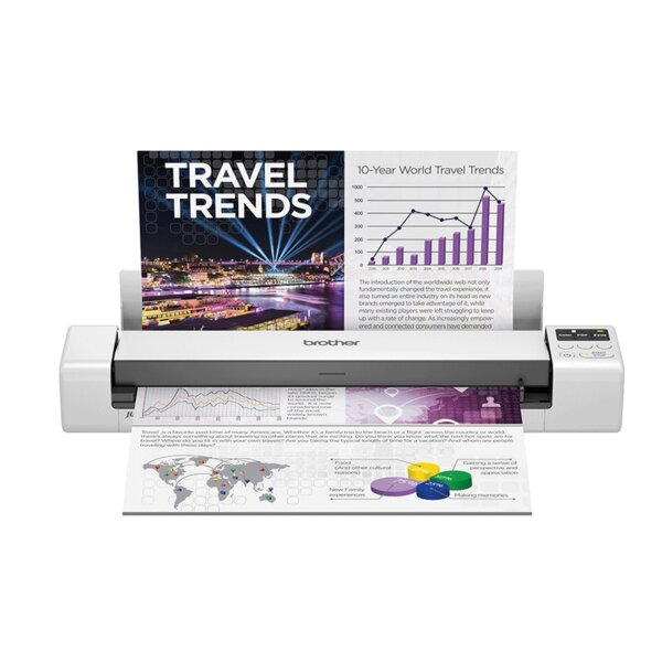 Brother DS-940DW Wireless, 2-sided Portable Document Scanner