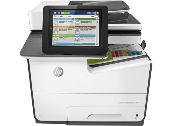 HP PageWide Enterprise Color MPF 586dn