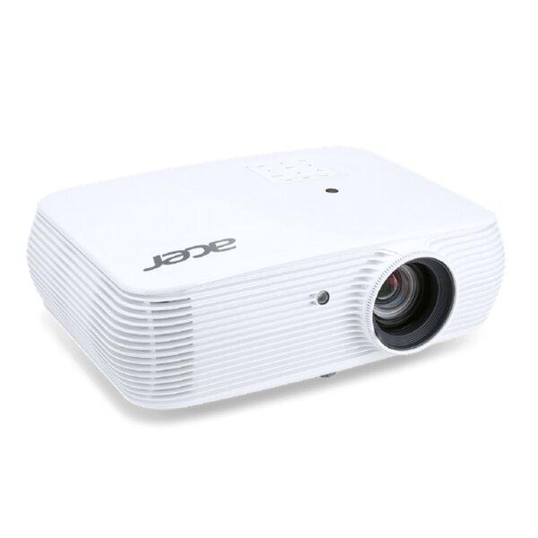 Acer Projector P5330W, DLP, WXGA (1280x800), 20000:1, 4500 ANSI Lumens, 3D 144Hz, VGAx2, RCA, HDMI/MHL, HDMI, Audio in, RJ45, LAN Control, Speaker 16W, Bluelight Shield, 2.73kg, White