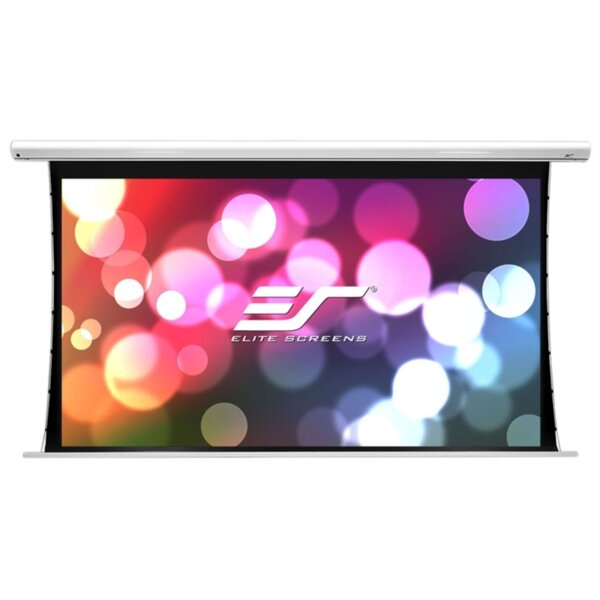 """Elite Screen SK110XHW-E12 Saker, 110"""" (16:9), 243.8 x 137.2 cm, White"""