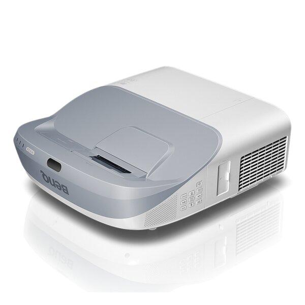 BenQ MW864UST Ultra Short Throw, DLP, WXGA(1280x800), 10 000:1, 3300 ANSI Lumens, VGA x2, HDMI x2, LAN, USB, 3D Ready, Speakers 10W x2, Wall mount included, Optional Interactive Kit