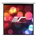 "Elite Screen M99NWS1 Manual, 99"" (1:1), 177.8 x 177.8 cm, White"