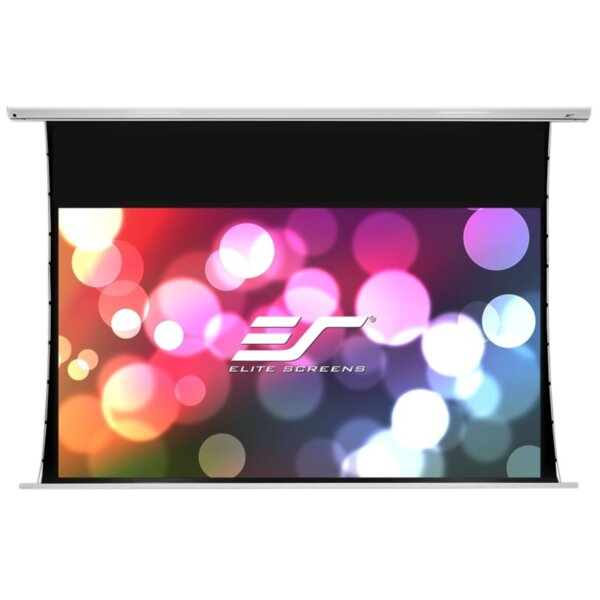 "Elite Screen SKT135XH-E12-AUHD Saker Tab-Tension, 135"" (16:9), 298.9 x 168.1 cm, White"