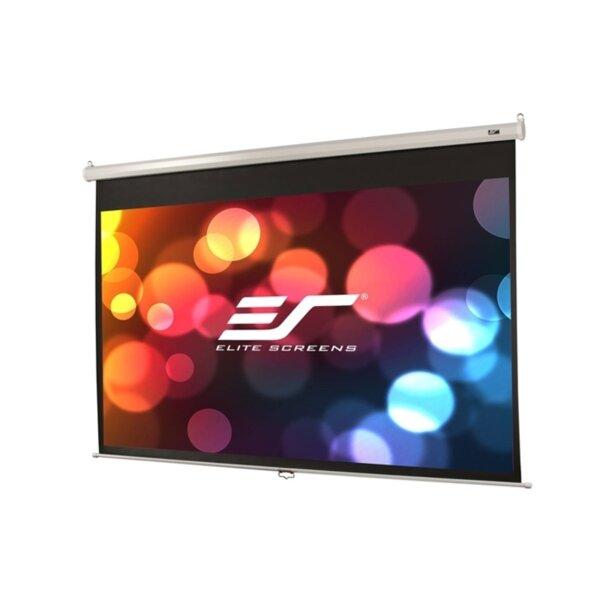 "Elite Screen M80NWV Manual, 80"" (4:3), 162.6 x 121.9 cm, White"