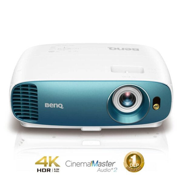 BenQ TK800M, Projector for Sports Fans, 4K HDR, DLP, 4K UHD (3840x2160), 10 000:1, 3000 ANSI Lumens, Zoom 1.1x, 96% Rec.709 Coverage, VGA, HDMI x2, USB Type A (1.5A), Audio In/Out, HDR10,