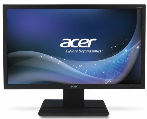 "Acer V226HQLbid, 21.5"" Wide TN LED, Anti-Glare, 5ms, 100M:1 DCR, 250 cd/m2, 1920x1080 FullHD, DVI, HDMI, Black"