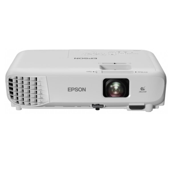 Epson EB-W06, WXGA (1280 x 800, 16:10), 3700 ANSI lumens, 16 000:1, HDMI, USB, WLAN (optional), Speakers, 24 months, Lamp: 12 months or 1000 h, White
