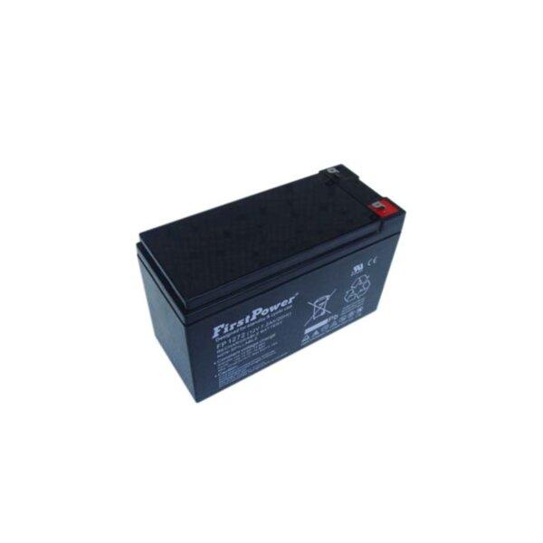 FirstPower FP7.2-12 - 12V 7.2Ah F2