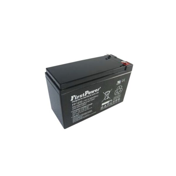 FirstPower FP9-12 - 12V 9Ah F2