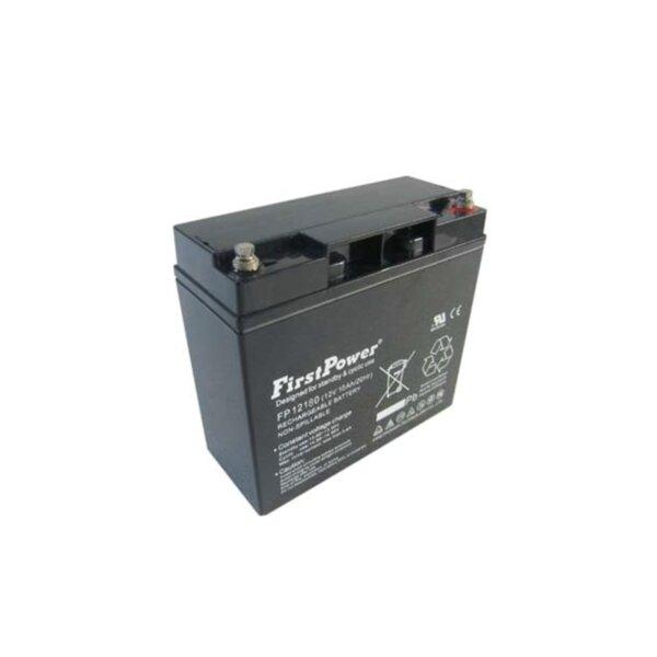 FirstPower FP18-12 - 12V 18Ah F2