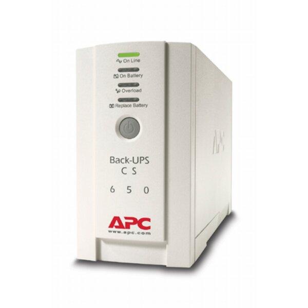 APC Back-UPS CS 650VA, USB or serial connectivity