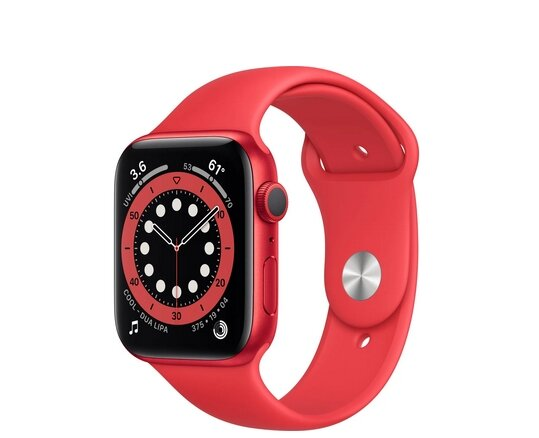 Смарт часовник Apple Watch S6 PRODUCT(RED) (M00M3BS/A)