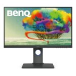 "BenQ PD2700U, 27"" IPS LED, 5ms, 3840x2160 4K, Design Monitor, 100% sRGB, DualView, PIP/PBP, CAD/CAM, Flicker-free, LBL, B.I., 1300:1, 20M:1 DCR, 10 bit, 350 cd/m2, HDMI, DP, miniDP, DP out,"