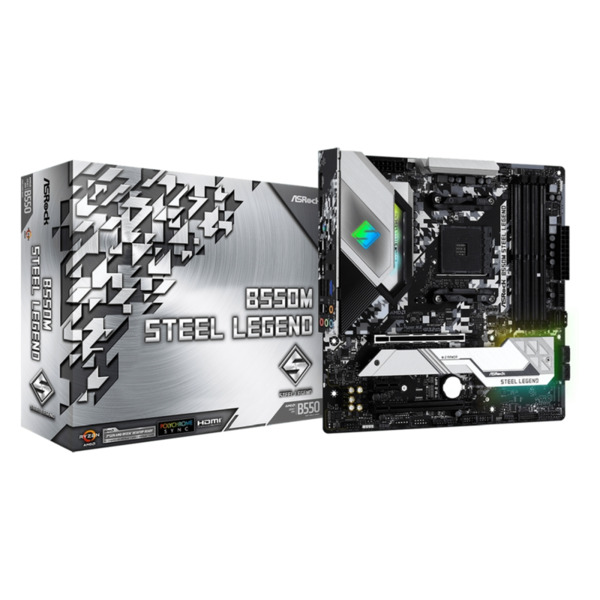Дънна платка Asrock B550M STEEL LEGEND