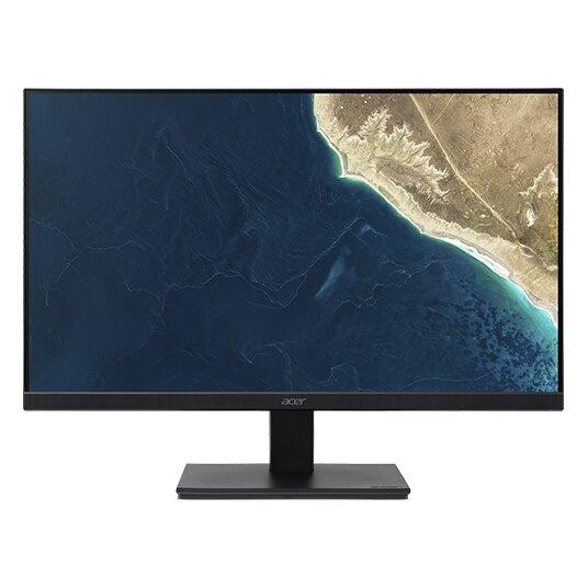 Acer V247Ybi, 23.8'' IPS LED, ZeroFrame, 4ms, 100M:1, 250 cd/m2, 1920x1080 FullHD, 75Hz,VGA HDMI EURO/UK EMEA TCO7.0 Black Acer EcoDisplay