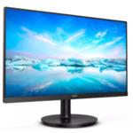 "Philips 241V8LA, 23.8"" WLED VA, 1920x1080@75Hz, 4ms GtG, 250cd/m2, 3000:1, Mega Infinity DCR, Adaptive Sync, FlickerFree, Low Blue Mode, 2Wx2, Tilt, D-SUB, HDMI, 3-sided frameless"