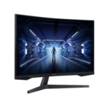 "Samsung C27G55TQ, 27"" Odyssey GAMING, Curved VA QLED, 144 Hz, 1 ms GTG, 2560x1440, 250 cd/m2, 2500:1 Contrast, AMD FreeSync, HDR, Eye Saver Mode, Flicker Free, Game Mode, Display Port 1.2,"