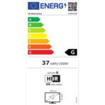 "LG 34WN780-B, 34"" UltraWide QHD Ergo AG, IPS, 5ms, CR 1000:1, 300cd/m2, 21:9, (3440x1440), 1ms Motion Blur Reduction, HDR 10, sRGB 99% , Radeon FreeSync, Reader Mode, 75Hz, HDMI, DisplayPort,"