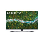 LG 50UP78003LB, 50'' 4K IPS UltraHD TV 3840 x 2160, DVB-T2/C/S2, webOS Smart TV, ThinQ AI, Quad Core 4K, WiFi 802.11ac, HDR10, HLG,  ALLM/HGiG, AI Sound, Voice Controll, Wi-Di, Miracast /
