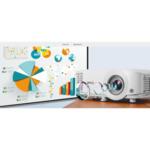 BenQ MS550, DLP, SVGA (800x600), 20 000:1, 3600 ANSI Lumens, Zoom 1.1x, Vertical Keystone, Speaker 2W, VGA, 2xHDMI, S-Video, RCA, VGA out,  Audio In/Out, RS232, USB mini B, 2.3 kg, White