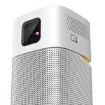"BenQ GV1 Poratable, DLP, LED, 480p (854x480), 100 000:1, 200 ANSI Lumens, 35""@1m, Speaker 5W, Bluetooth Speaker, Auto Keystone, WiFi, Smart TV Apps, USB Reader, 3-Hour Battery, 0.7kg"