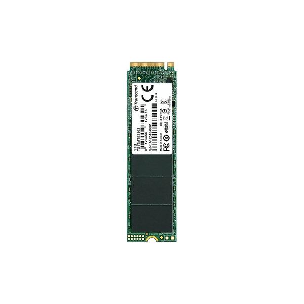 Transcend 128GB, M.2 2280,PCIe Gen3x4, 3D TLC, DRAM-less