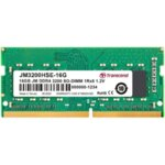 Transcend 16GB JM DDR4 3200Mhz SO-DIMM 1Rx8 2Gx8 CL22 1.2V