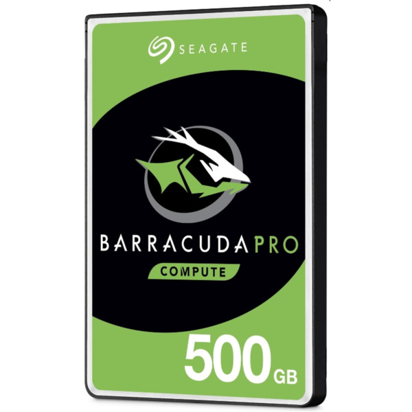 """Seagate BarraCuda Pro 500GB 7200 RPM 128MB SATA 6.0Gb/s 2.5"""" int."""