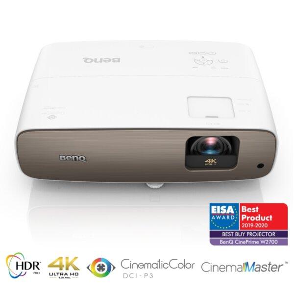 Мултимедиен проектор BenQ W2700 (9H.JKC77.37E)