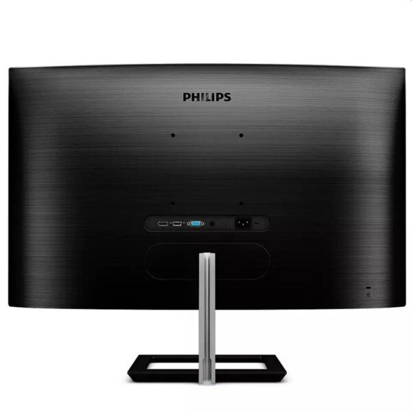 "Philips 322E1C, 31.5"" Curved 1500R VA WLED, 1920x1080@75Hz, 4ms GtG, 250cd/m2, 3000:1, Mega Infinity DCR, FreeSync/Adaptive Sync, FlickerFree, Low Blue Mode, Tilt, D-SUB, HDMI, DP"