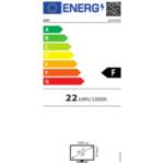 "AOC Q24V4EA, 23.8"" IPS WLED, 2560x1440@75Hz, 4GtG, 250m/2, 1000:1, DCR 20M:1, Adaptive Sync, FlickerFree, Low Blue Light, 2Wx2, Tilt, HDMI, DP"