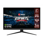 """MSI Optix G273QF, 27"""", IPS, 165Hz, 1ms, 2K 2560x1440, Anti-glare, G-sync Compatible, Rapid IPS, Night Vision, Wide Color Gamut, Frameless, 300 nits, Contrast 1000:1, DCR 100M:1, DP (1.2), 2x"""