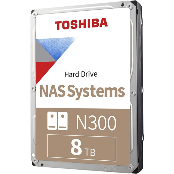 "Toshiba N300 NAS Hard Drive 8TB (256MB) 3,5"""