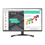 """LG 32QN600-B, 32"""", QHD (2560x1440) IPS Display AG, sRGB 99%, 75Hz, 5ms, 1000:1, 350cd/m2, AMD FreeSync, HDR 10, Color Calibrated, Reader Mode, HDMI, DisplayPort, Headphone out, Tilt"""