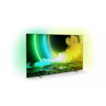 """Philips 55OLED705/12, 55"""" UHD 4K OLED 3840x2160, DVB-T2/C/S2, Ambilight 3, HDR10+, Android 9, Dolby Vision, Dolby Atmos, Quad Core P5 Perfect/Al, 60Hz, BT 4.2, HDMI, USB, Cl+, 802.11ac, Lan,"""