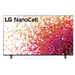 """LG 65NANO753PA, 65"""" 4K IPS HDR Smart Nano Cell TV, 3840x2160, DVB-T2/C/S2, Active HDR ,HDR 10 PRO, webOS Smart TV, ThinQ AI, WiFi, Clear Voice, Bluetooth, Miracast / AirPlay, Two Pole stand,"""